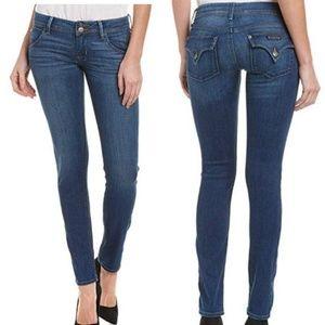 "Hudson Collin Skinny Midrise Jeans Inseam 31.5"""